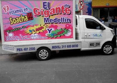 Carros Vallas Bogota - Vallas Moviles