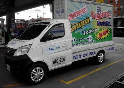 Carros Vallas Bogota - Vallas Moviles Publicitarias, Carros de Publicidad movil en bogota, Cali, Medellin,Bucaramanga, Cucuta, Pereira, Colombia
